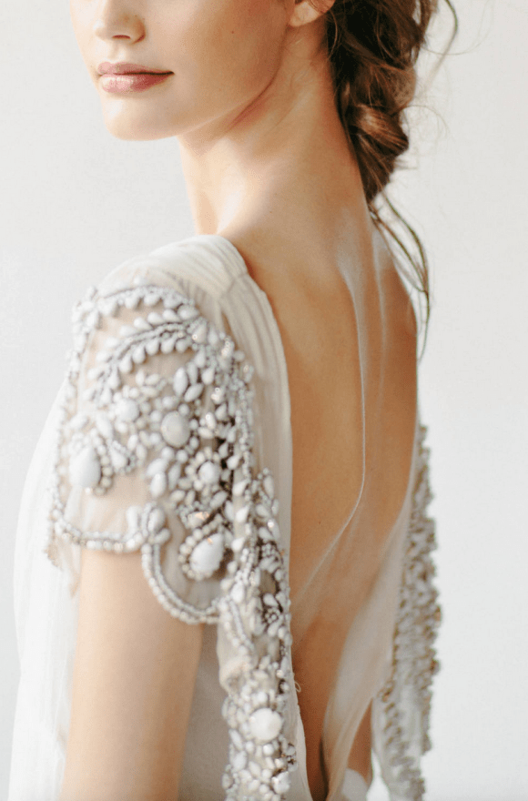 Embellished Backless Rue De Seine