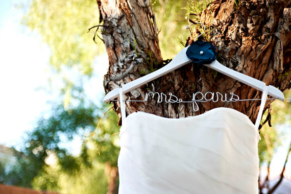 Handcrafted Affairs - Wedding Hanger