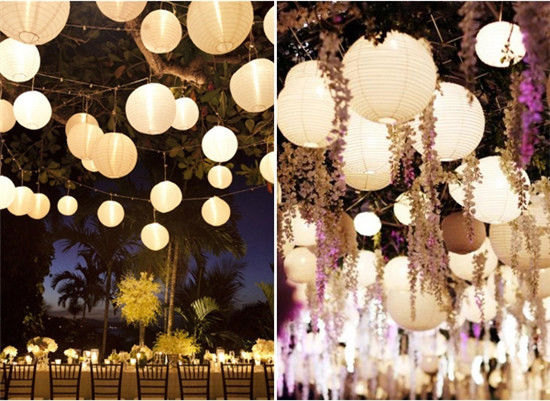 Light Sources - Wedding Laterns