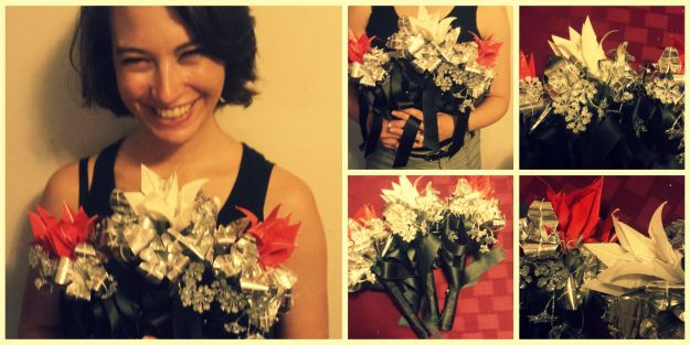 Foil Flower Collage