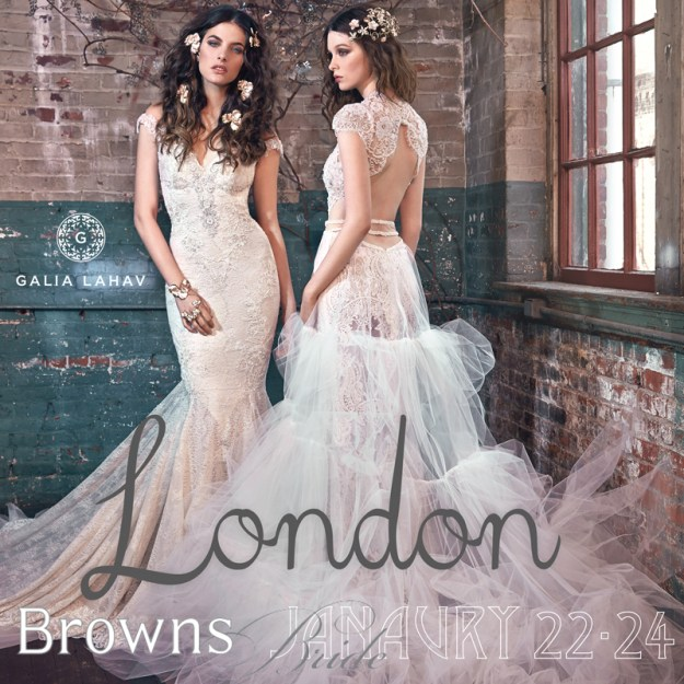 Galia Lahav London Trunk Show