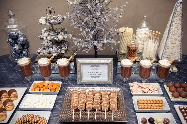 Wedding Hot Chocolate Station