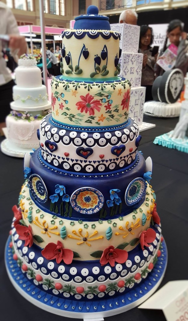 Wedding Cake Inspiration - Delft