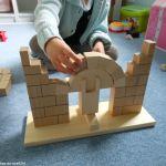 Arche romane activité Montessori