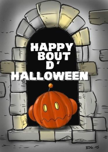Happy Bout d'Halloween BDG