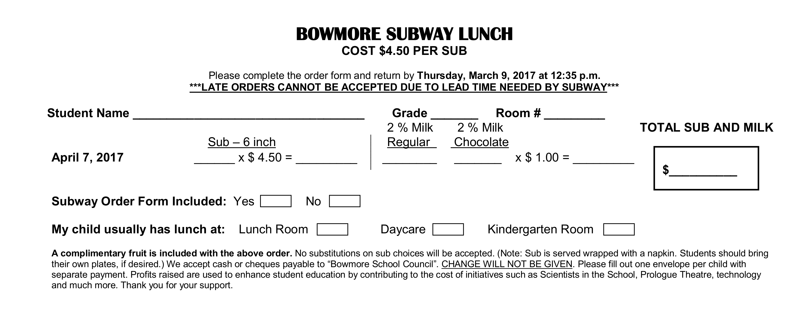 Smashing Inmate Please Fill Out Both Envelope Order Form Sent To Subway Lunch Order Forms Due Thursday Bowmore School Council How To Fill Out Envelope Canada Post How To Fill Out Envelope photos How To Fill Out Envelope