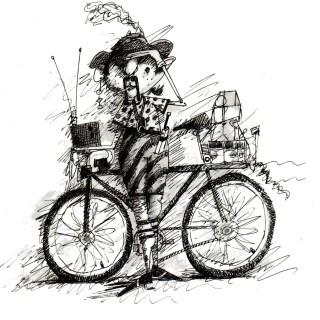 bike courier - Washington Post