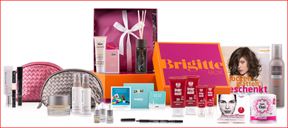 Brigitte Box mit 10€ Rabatt Boxenwelt24.de