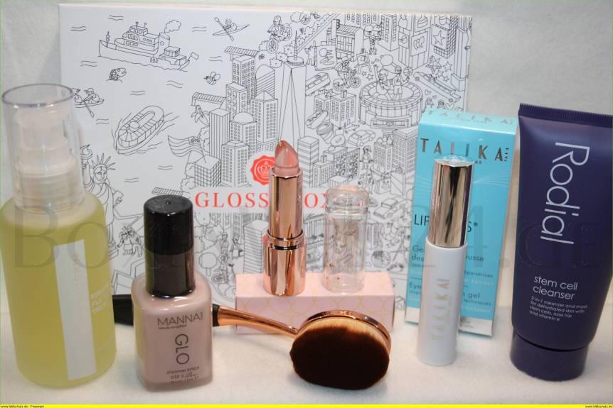 Glossybox Metropolitan Beauty Boxenwelt24.de