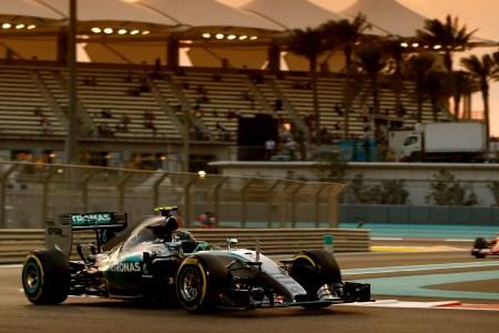 Rosberg six from six in Abu Dhabi GP qualifying