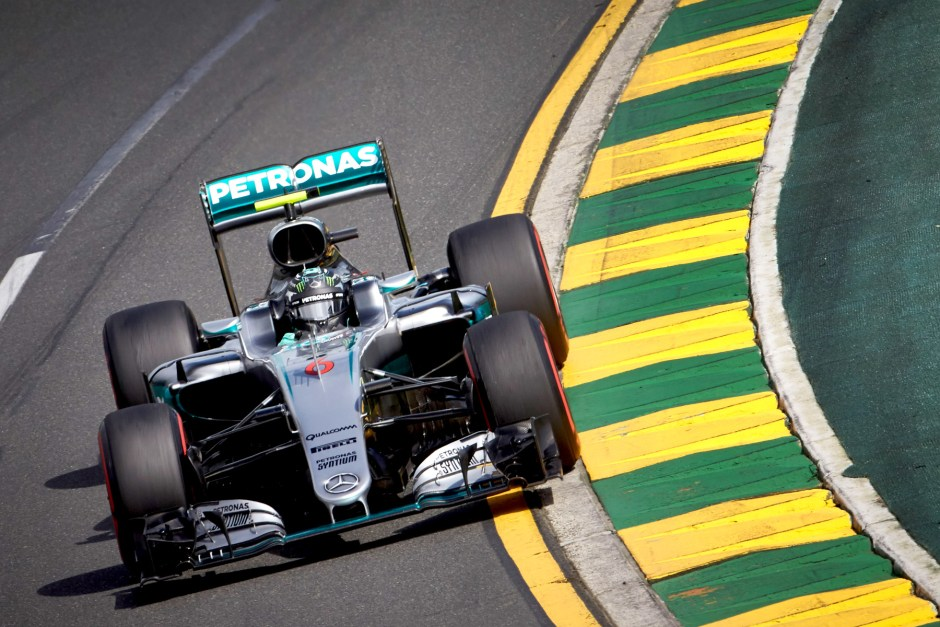 Rosberg opens season with strategic victory