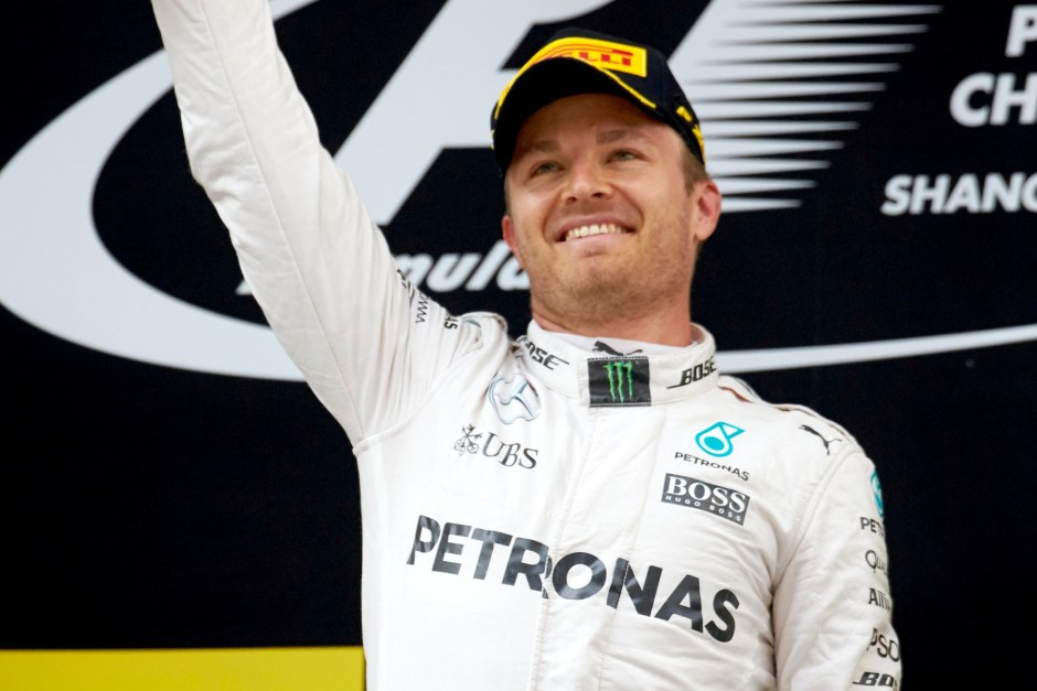 Rosberg rules scrappy Shanghai