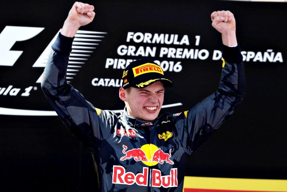 Sensational Verstappen wins on Red Bull debut