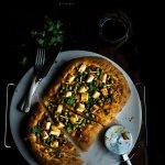 Matar/Peas and Paneer Pizza I Boxofspice