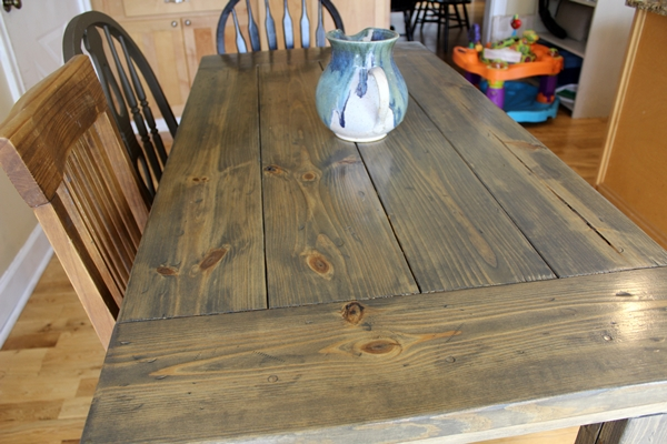 Farmhouse Table Easy e Month Long Project