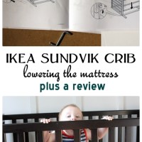 The Ikea Sundvik Crib Eight Months Later: A Bit of Babyproofing