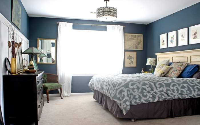 newburg green master bedroom