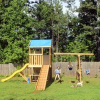 DIY Swing Set: Wrapping Things Up