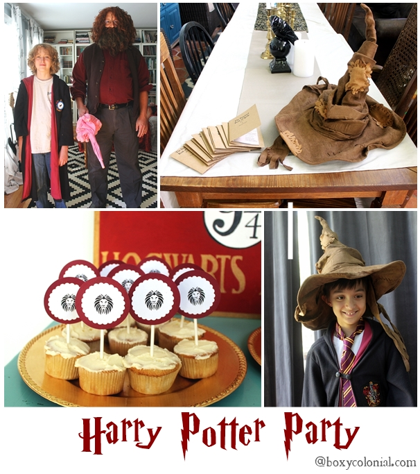 Throw a Harry Potter birthday party: lots of ideas for food, decor, crafts, games, and favors