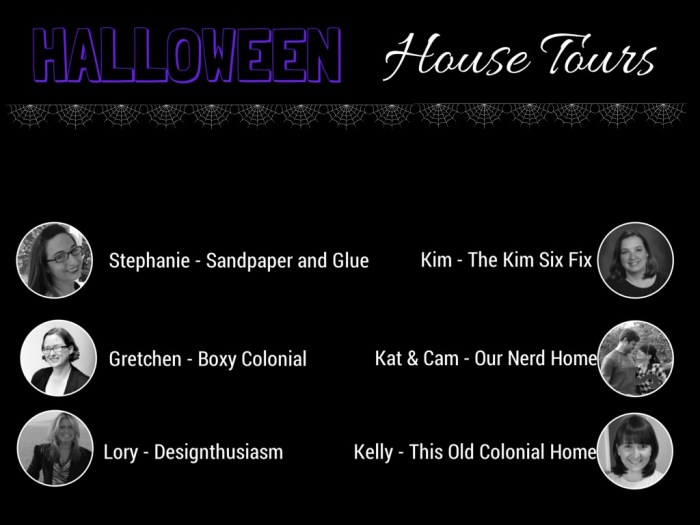 halloween house tours - option 2