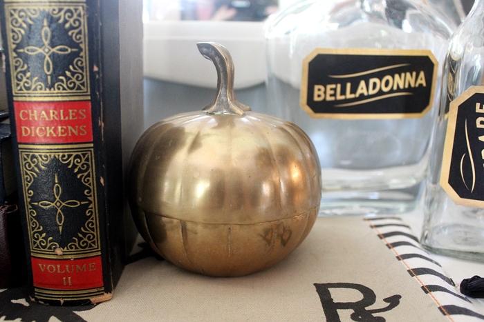 brass pumpkin
