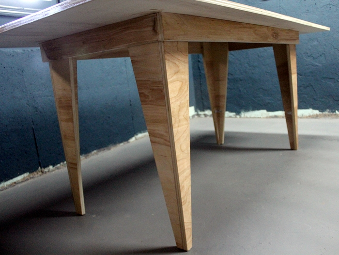 birch table legs