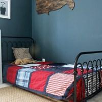 Novogratz Bright Pop Bed and Abe's New Room