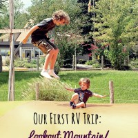 Our First RV Trip: Lookout Mountain/Chattanooga West KOA