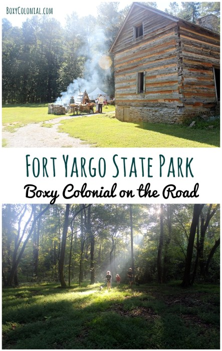 RV trip to Fort Yargo State Park in Winder, GA. Campground review and Fun at the Fort historical reenactments