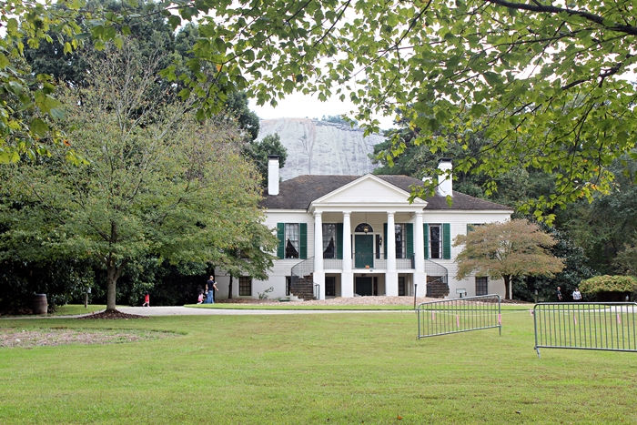 antebellum plantation at Stone Mountain park