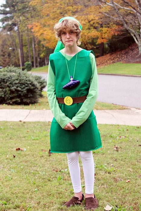 DIY Link from Zelda Halloween costume