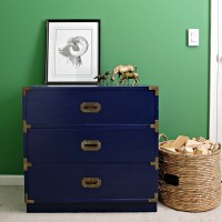 Campaign Chest Makeover with Wagner Home Decor Paint Sprayer