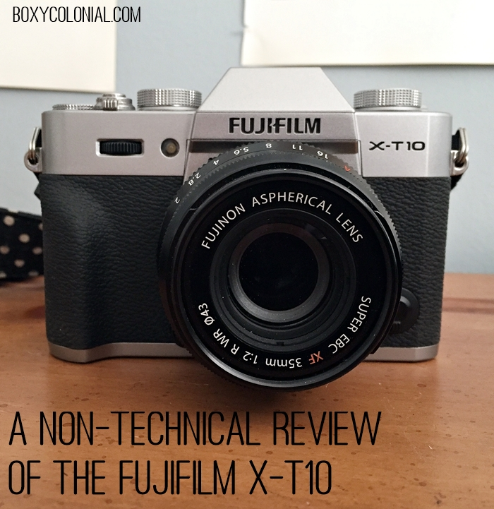 A blogger's review of the mirrorless Fujifilm X-T10