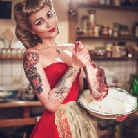 Rockabilly Pin-Up Fashion