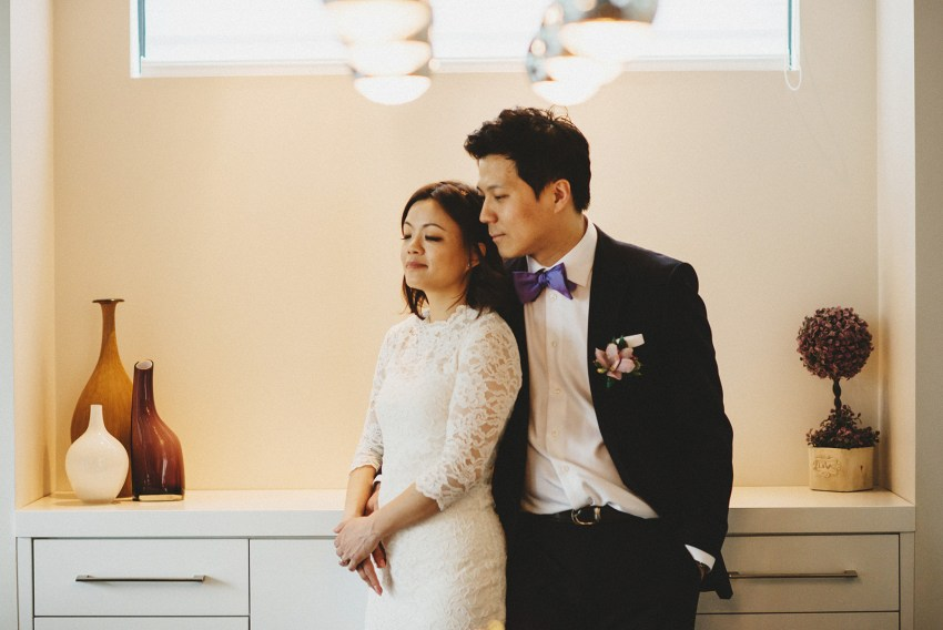 vancouver livingroom wedding