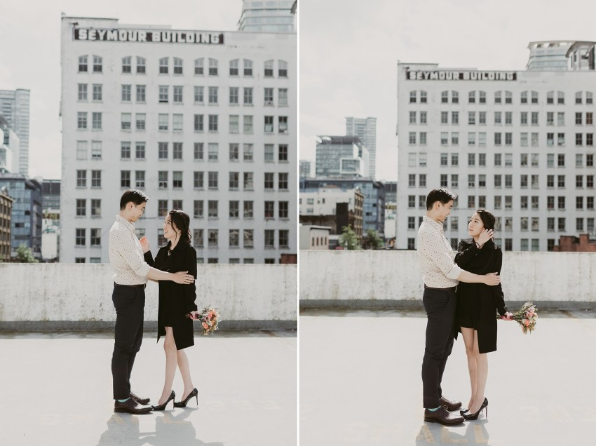 vancouver downtown engagement