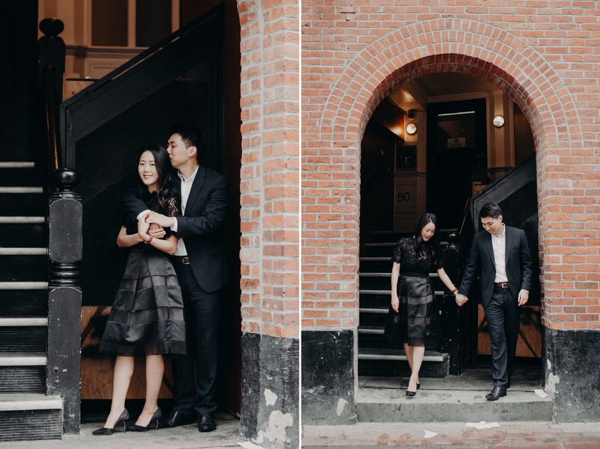 gastown couple session