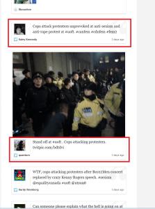 Cops attack