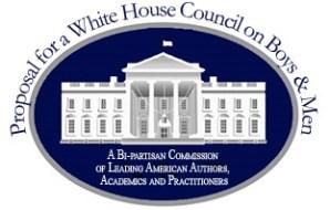 White House boys men logo