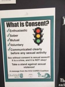 Flyer - What is Consent - Coastal Carolina University