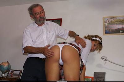girl spanks underwear