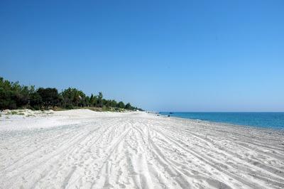Beach on Ionian Sea, Calabria, Italy