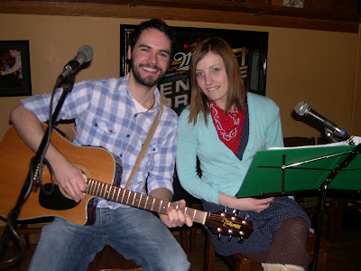 Blake+and+Dannie+B A song to sing   Open mikes popular with all ages in clubs and community centres on the Island photo