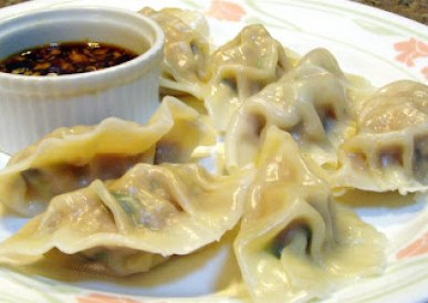pork shrimp mushroom dumplings recipe