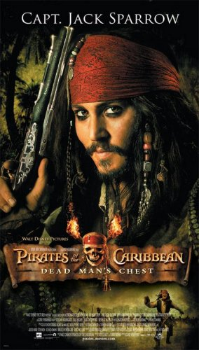 Poster do filme Piratas do Caribe: O baú da morte