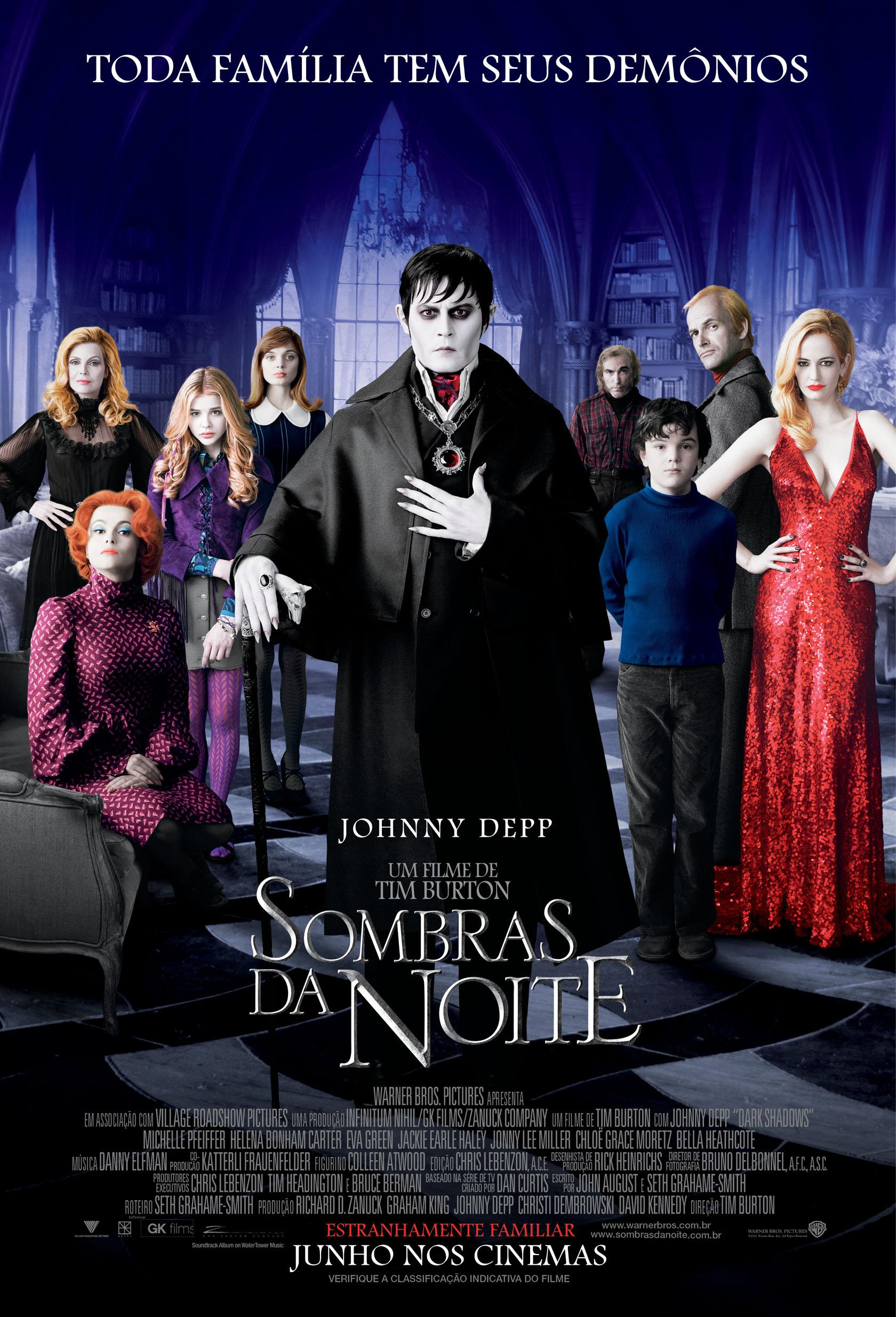 Poster do filme Sombras da Noite