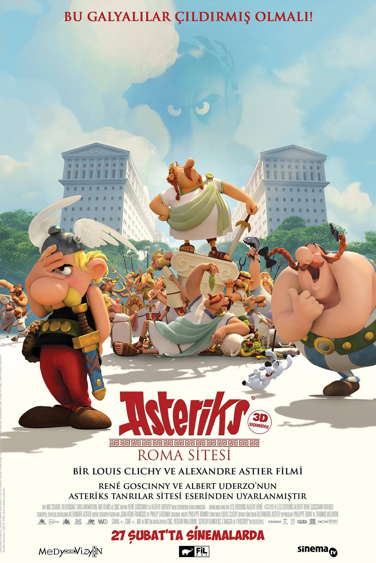 Poster do filme Asterix e o Domínio dos Deuses