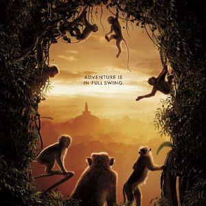 Poster do filme O reino dos primatas