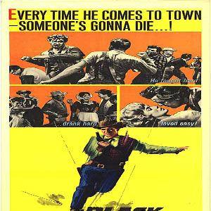 Poster do filme O pistoleiro de esporas negras