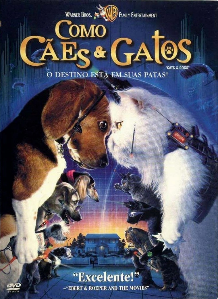 Poster do filme Como Cães e Gatos